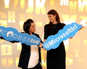 Codess Dublin and Microsoft Ireland