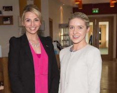 Amy Quilter, Radisson Hotel and Christine Cleary, MPS Corporate Services