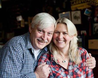 Peter and Birgitta Curtin