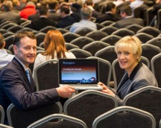 Michael Neary, Grant Thornton and Margaret Hearty, InterTradeIreland.