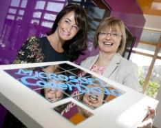 Mary Moloney, CEO of the CoderDojo Foundation and Cathriona Hallahan, Managing Director, Microsoft Ireland