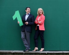 Ronan Harris, Head of Google in Ireland and Niamh Boyle, MD, Repuations Agency