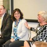 David Ringwood, MRG; Fiona McCarthty, Dell; and Carol Bolger, Right Management.